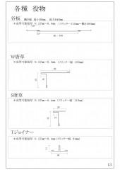 各種 役物 (PDF/187KB)